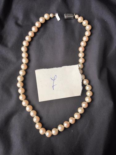 3c21b3c58e1e Antiguo Collar De Perlas Fantasia 87
