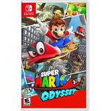 Mario Odyssey Nintendo Switch Sellado Físico