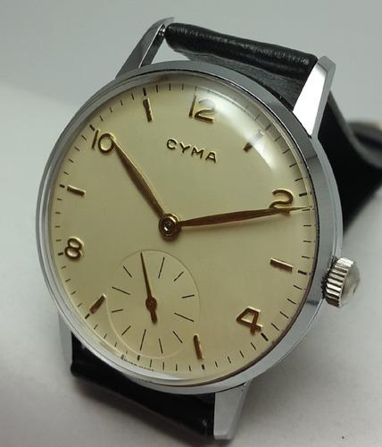 3b1650c00969 Reloj Cyma Vintage Jumbo Cal.586
