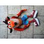 Crash Bandicoot Peluche Nuevo Con Etiqueta