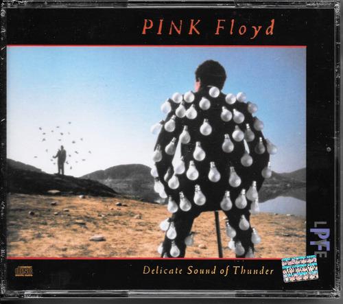 Pink Floyd Delicate Sound Of Thunder Cd Doble Nuevo Sellado
