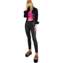 911a71f7b Pantalon Engomado Cuero Mujer Elastizado Tiro Alto Chupin en venta ...