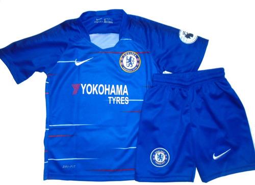Conjunto Del Chelsea Camiseta Y Short Para Niño 8e061d02c932d