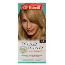 Biferdil Tono S/tono Nro 8 Rubio Claro Kit - V Beautyshop
