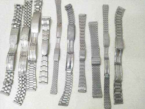 Mallas De Relojes Pulsera Para Repuestos Sin Marca Ms33