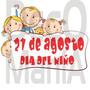 Vinilos Dia Del Niño - Vidrieras Ploteos En General
