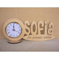 30 Souvenirs Reloj Con Nombre Personalizado Originales