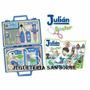 Valija Julian Doctor Grande C/luz Y Sonido Legitima Tv !!!