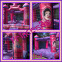 Castillo Inflable 3x3 Pintado Princesas/hombre Araña