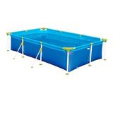 Pileta Estructural Azul Mor 001012 Rectangular De 2.71m De Largo X 1.56m De Ancho