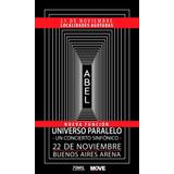 Entradas Abel Pintos - Bs. As. Arena 23/11 Sector D Fila 1!!