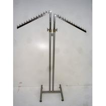 Excelente Perchero Diseño Metal Alto Regulable (1661)