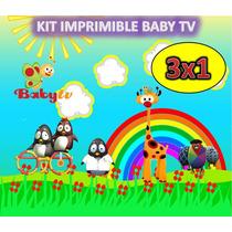 Kit Imprimible Baby Tv