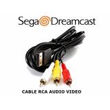 Cable Rca Audio Video Sega Dreamcast