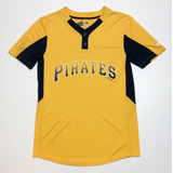 Casaca Remera Baseball Usa Majestic Pirates Mlb 11 M 3175f8746b9