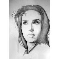 Retratos A Lápiz Y En Varias Técnicas Por Encargo Pedido