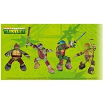 Muñecos Tortugas Ninja Colección Mc Donalds 2016