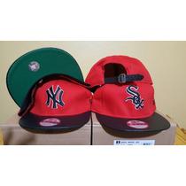 Gorras Importadas Strapback New York Y Sox Mlb