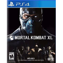 Mortal Kombat Xl Ps4 Digital Tu Usuario Maximo Games