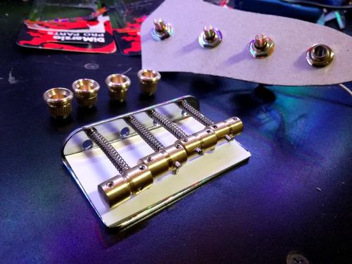 Circuito Jazz Bass Pasivo : Kit para bajo jazz bass puente y circuito pasivo dimarzio