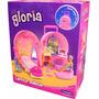 Gloria Carrito-maletin Set De Muebles Para Muñecas