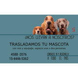 Viajes Con  Mascotas A Todo El País