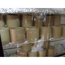 Pote De Carton Tipo Dulce De Leche De 1/2 Kg X 20 U