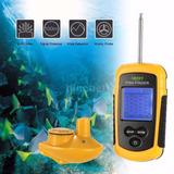 Ecosonda Color Portatil De Pesca Fish Finder Sonar - Unico -