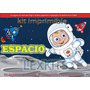 Kit Imprimible Candy Bar Espacio Naves Astronauta Cohetes