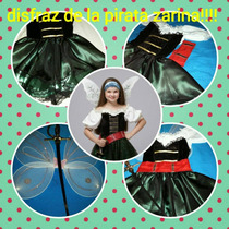 Disfraz De Hada Pirata Zarina!