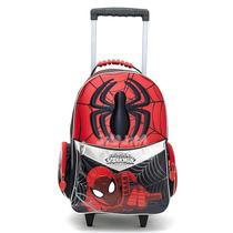 Mochila Escolar Carro Grande 18¨ De Lujo Spiderman Jiujim