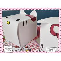Souvenir Evento Caja Personalizada Cumple Hello Kitty