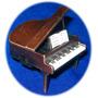 Sacapuntas Metal Patinado Sharpener Piano De Cola Antiguo