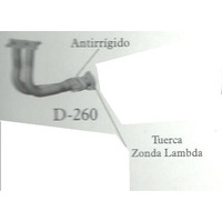 Salida Motor Horquilla Vw Pointer 1.6 1.8 - 2.0 Reforzada