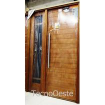 Puertas oblak aberturas puertas en pisos paredes y for Aberturas pvc simil madera precios