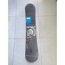 Oferta Snowboard Nitro Swindle 148cm Con Fijacion Flow.
