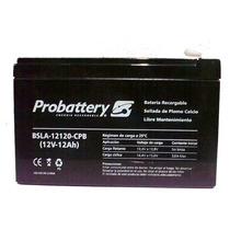 Bateria De Gel Para Ups, Probattery 12volts 12 Amper Hora