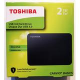 Disco Rigido Externo 2tb Toshiba Canvio Basics Usb 3.0 / 2.0