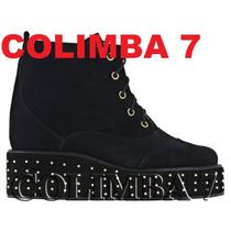 ¡¡ Prüne / Blaque Bota 100% Cuero Nuevo N°36 New Colection