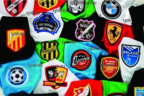 Pack 11 Camisetas Futbol Escudo Personalizado Y Numero Yakka ... e4b1f642ed01d