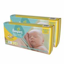 40 Pañales Pampers Recien Nacido