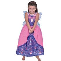 Disfraz De Barbie Princesa De Las Hadas Original New Toys