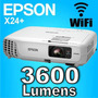 Proyector Epson Powerlite X36+ 3600 Lumens Xga Usb Hdmi Wifi