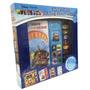 Libro Didactico Disney Pixar Con 3 Libros Y Sonidos