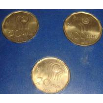 Monedas Mundial 78 X3