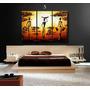 Cuadros Murales Tripticos, Modernos, Paisajes, 90 X 60 Cm