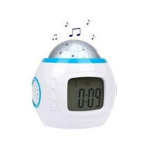 Reloj Despertador Con Estrellas Y Música