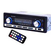 Stereo Con Bluetooth Estereo Auto Usb Mp3 Fm Jsd-20158 2018!