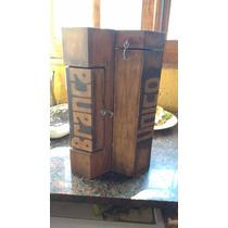 Porta Fernet, Caja Para Fernet. (incluye Fernet Y 2 Vasos)