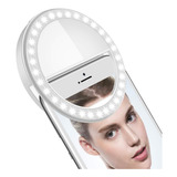 Aro Luz Led Selfies Celular Tablet Pc Linterna Anillo 8.5 Cm